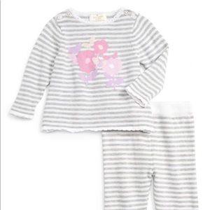 Kate Spade Baby Girl's Intarsia Swearer & Pant Set